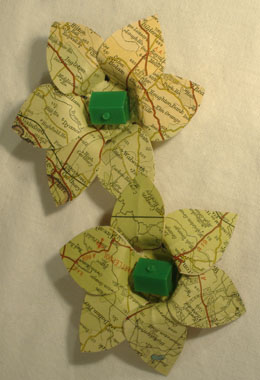Map Shoe Clips