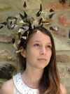 Music Feather Headpiece