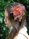 Organdie Flower Hairband
