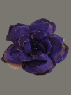 Purple Velevet Flower Brooch